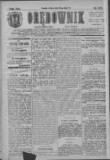 Orędownik: najstarsze ludowe pismo narodowe i katolickie w Wielkopolsce 1911.05.28 R.41 Nr121