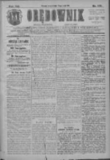 Orędownik: najstarsze ludowe pismo narodowe i katolickie w Wielkopolsce 1911.05.30 R.41 Nr122
