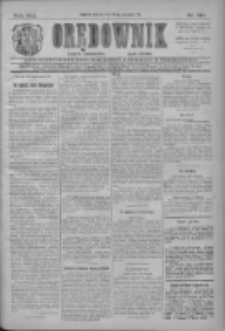 Orędownik: najstarsze ludowe pismo narodowe i katolickie w Wielkopolsce 1911.06.10 Nr131