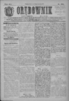 Orędownik: najstarsze ludowe pismo narodowe i katolickie w Wielkopolsce 1911.06.14 Nr134