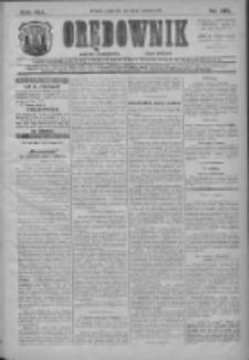 Orędownik: najstarsze ludowe pismo narodowe i katolickie w Wielkopolsce 1911.06.15 Nr135