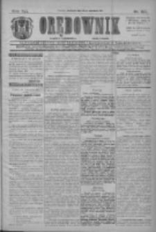 Orędownik: najstarsze ludowe pismo narodowe i katolickie w Wielkopolsce 1911.06.18 Nr137
