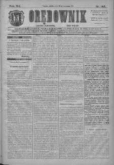 Orędownik: najstarsze ludowe pismo narodowe i katolickie w Wielkopolsce 1911.06.24 Nr142