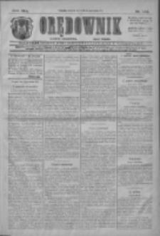 Orędownik: najstarsze ludowe pismo narodowe i katolickie w Wielkopolsce 1911.06.27 R.41 Nr144
