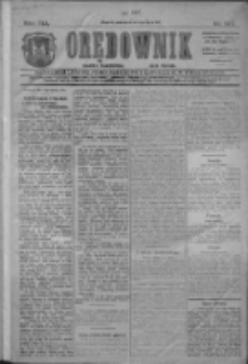 Orędownik: najstarsze ludowe pismo narodowe i katolickie w Wielkopolsce 1911.07.01 R.41 Nr147