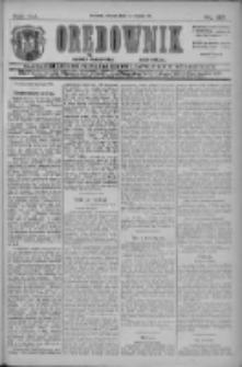Orędownik: najstarsze ludowe pismo narodowe i katolickie w Wielkopolsce 1911.07.11 R.41 Nr155