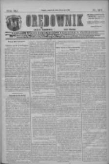 Orędownik: najstarsze ludowe pismo narodowe i katolickie w Wielkopolsce 1911.07.13 R.41 Nr157