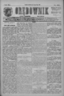 Orędownik: najstarsze ludowe pismo narodowe i katolickie w Wielkopolsce 1911.07.14 R.41 Nr158