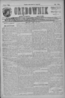 Orędownik: najstarsze ludowe pismo narodowe i katolickie w Wielkopolsce 1911.07.19 R.41 Nr162