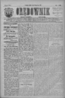 Orędownik: najstarsze ludowe pismo narodowe i katolickie w Wielkopolsce 1911.07.28 R.41 Nr170