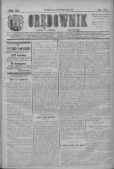 Orędownik: najstarsze ludowe pismo narodowe i katolickie w Wielkopolsce 1911.07.29 R.41 Nr171
