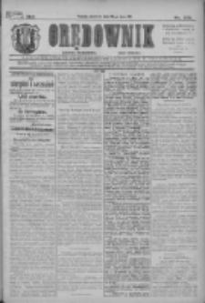 Orędownik: najstarsze ludowe pismo narodowe i katolickie w Wielkopolsce 1911.07.30 R.41 Nr172