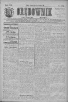 Orędownik: najstarsze ludowe pismo narodowe i katolickie w Wielkopolsce 1911.08.01 R.41 Nr173