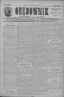Orędownik: najstarsze ludowe pismo narodowe i katolickie w Wielkopolsce 1911.08.02 R.41 Nr174