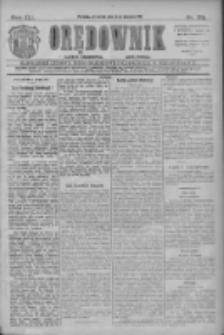 Orędownik: najstarsze ludowe pismo narodowe i katolickie w Wielkopolsce 1911.08.03 R.41 Nr175