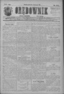 Orędownik: najstarsze ludowe pismo narodowe i katolickie w Wielkopolsce 1911.08.11 R.41 Nr182