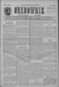 Orędownik: najstarsze ludowe pismo narodowe i katolickie w Wielkopolsce 1911.08.13 R.41 Nr184