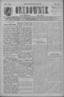 Orędownik: najstarsze ludowe pismo narodowe i katolickie w Wielkopolsce 1911.08.18 R.41 Nr187