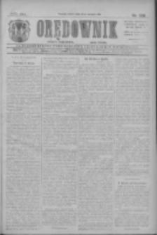 Orędownik: najstarsze ludowe pismo narodowe i katolickie w Wielkopolsce 1911.08.19 R.41 Nr188