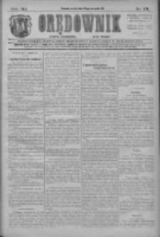 Orędownik: najstarsze ludowe pismo narodowe i katolickie w Wielkopolsce 1911.08.23 R.41 Nr191
