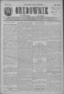 Orędownik: najstarsze ludowe pismo narodowe i katolickie w Wielkopolsce 1911.08.24 R.41 Nr192