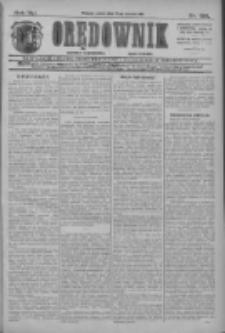 Orędownik: najstarsze ludowe pismo narodowe i katolickie w Wielkopolsce 1911.08.25 R.41 Nr193
