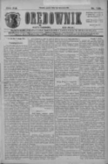Orędownik: najstarsze ludowe pismo narodowe i katolickie w Wielkopolsce 1911.09.01 R.41 Nr199