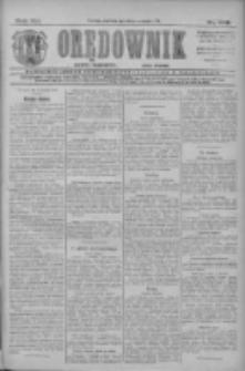 Orędownik: najstarsze ludowe pismo narodowe i katolickie w Wielkopolsce 1911.09.10 R.41 Nr206