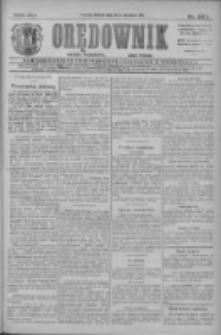 Orędownik: najstarsze ludowe pismo narodowe i katolickie w Wielkopolsce 1911.09.12 R.41 Nr207