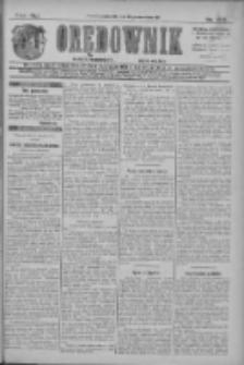 Orędownik: najstarsze ludowe pismo narodowe i katolickie w Wielkopolsce 1911.09.21 R.41 Nr215
