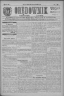 Orędownik: najstarsze ludowe pismo narodowe i katolickie w Wielkopolsce 1911.09.23 R.41 Nr217
