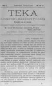 Teka: czasopismo młodzieży polskiej. 1908 R.10 nr10-11