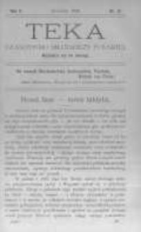 Teka: czasopismo młodzieży polskiej. 1908 R.10 nr12
