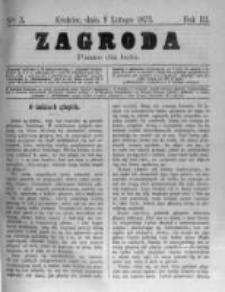 Zagroda: pismo dla ludu. 1873.02.08 R.3 nr3