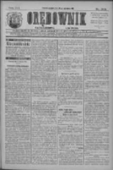 Orędownik: najstarsze ludowe pismo narodowe i katolickie w Wielkopolsce 1911.09.29 R.41 Nr222
