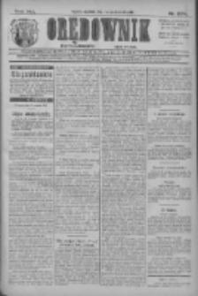 Orędownik: najstarsze ludowe pismo narodowe i katolickie w Wielkopolsce 1911.10.01 R.41 Nr224