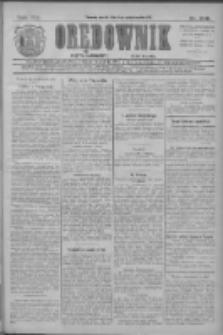 Orędownik: najstarsze ludowe pismo narodowe i katolickie w Wielkopolsce 1911.10.06 R.41 Nr228