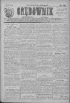 Orędownik: najstarsze ludowe pismo narodowe i katolickie w Wielkopolsce 1911.10.10 R.41 Nr231