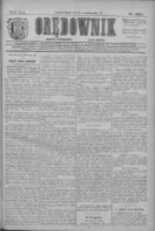 Orędownik: najstarsze ludowe pismo narodowe i katolickie w Wielkopolsce 1911.10.13 R.41 Nr234