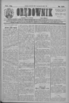 Orędownik: najstarsze ludowe pismo narodowe i katolickie w Wielkopolsce 1911.10.15 R.41 Nr236