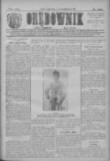 Orędownik: najstarsze ludowe pismo narodowe i katolickie w Wielkopolsce 1911.10.19 R.41 Nr239