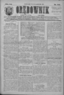 Orędownik: najstarsze ludowe pismo narodowe i katolickie w Wielkopolsce 1911.10.20 R.41 Nr240
