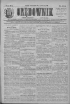 Orędownik: najstarsze ludowe pismo narodowe i katolickie w Wielkopolsce 1911.10.22 R.41 Nr242