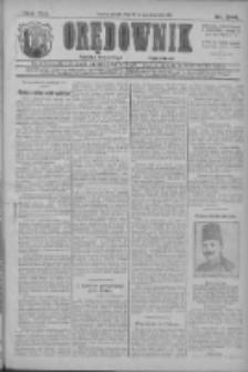 Orędownik: najstarsze ludowe pismo narodowe i katolickie w Wielkopolsce 1911.10.25 R.41 Nr244