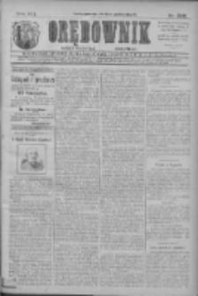 Orędownik: najstarsze ludowe pismo narodowe i katolickie w Wielkopolsce 1911.10.26 R.41 Nr245