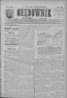 Orędownik: najstarsze ludowe pismo narodowe i katolickie w Wielkopolsce 1911.10.28 R.41 Nr247