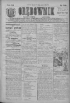 Orędownik: najstarsze ludowe pismo narodowe i katolickie w Wielkopolsce 1911.10.31 R.41 Nr249