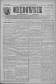 Orędownik: najstarsze ludowe pismo narodowe i katolickie w Wielkopolsce 1911.11.03 R.41 Nr251