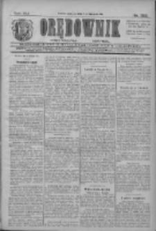Orędownik: najstarsze ludowe pismo narodowe i katolickie w Wielkopolsce 1911.11.05 R.41 Nr253
