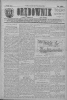 Orędownik: najstarsze ludowe pismo narodowe i katolickie w Wielkopolsce 1911.11.09 R.41 Nr256
